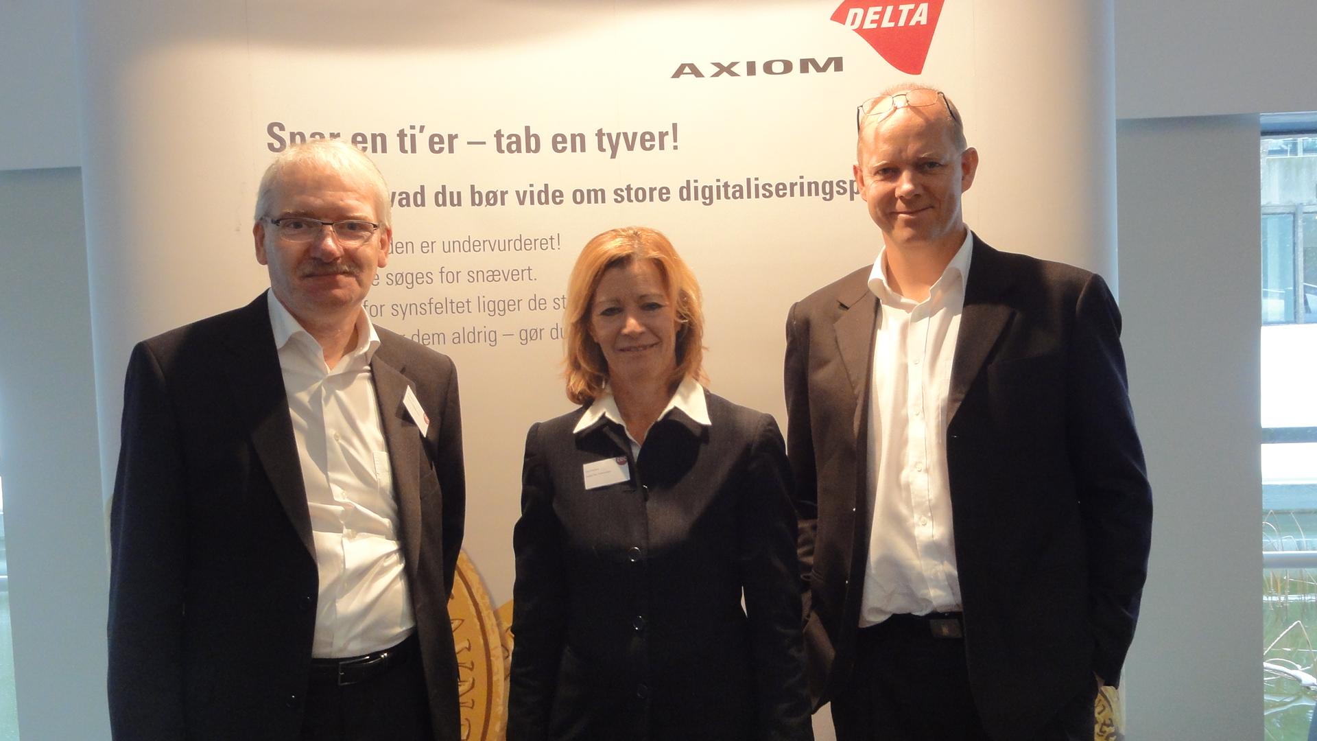 Bo Balstrop, Carol Dekkers, Morten Korsaa